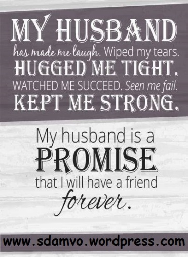 Husband and Wife Quotes* – M V O  Mission, Vision and Objective